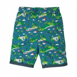 Frugi Ralph Reversible Short, Bullet Train