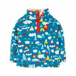 Frugi Snuggle Fleece, Climb a  Rainbow