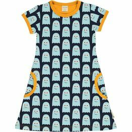 Maxomorra Classics Ghost Short Sleeve Dress