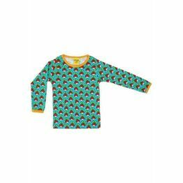 Last ones Duns Turquoise Radish Long Sleeve Top 140