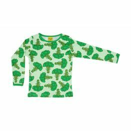 Adult Duns Broccoli Long Sleeve Top