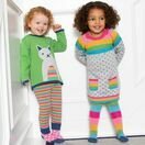 Kite Rainbow Knit Heart Print Dress additional 4