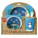 Frugi Bamboo Dinner Set-Penguin additional 1