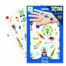 Djeco Temporary Tattoos - Space Oddity additional 1