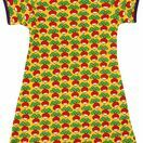 DUNS Sweden Adult Radish Yellow Short Sleeve A-Line Dress (Last Two) additional 1