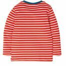Frugi Discovery Applique Top, Koi Red Stripe/Shark additional 3