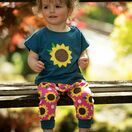 Frugi Parsnip Pants, Sunflowers additional 2