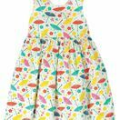 Frugi Porthcurno Party Dress - Soft White Parasols additional 1