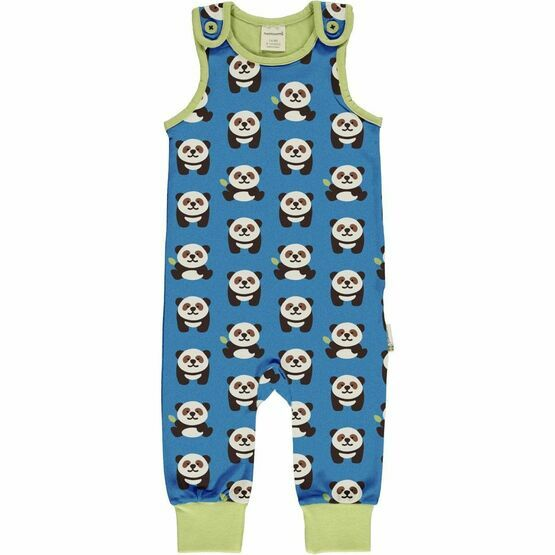 Maxomorra Playful panda Playsuit