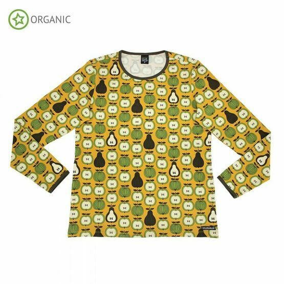 Villervalla Adult Long Sleeve Top Garden Fruit, Honey