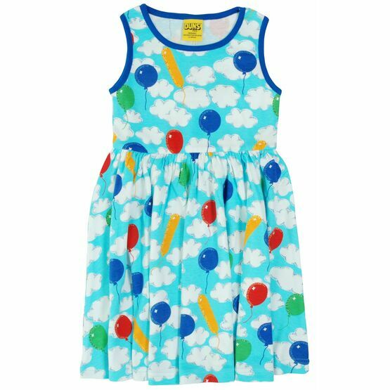 Duns A Cloudy Day Sleeveless Gather Dress