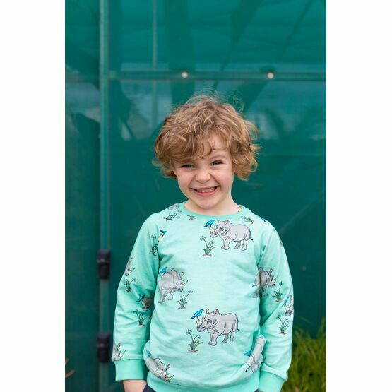 Oomph and Floss Rhinoceros Super Light Weight Jumper, Biscay Bay Blue