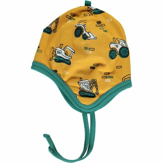 Maxomorra Brick Builders Hat Helmet Velour