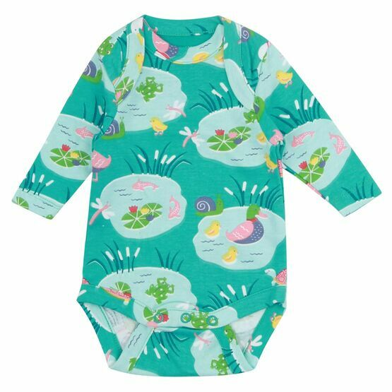 Piccalilly Pondlife Baby Body Suit