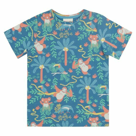 Piccalilly Rainforest All Over Print T-shirt