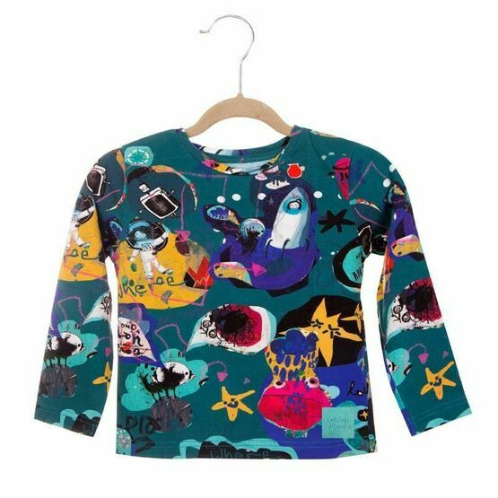 Milena & Milenka Space Long Sleeved Top