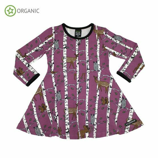 Last ones Smoothy Birch Animals Half Circle Dress